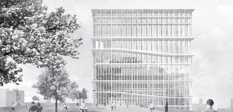 Neubau Bibliothek Technische Universität Dortmund