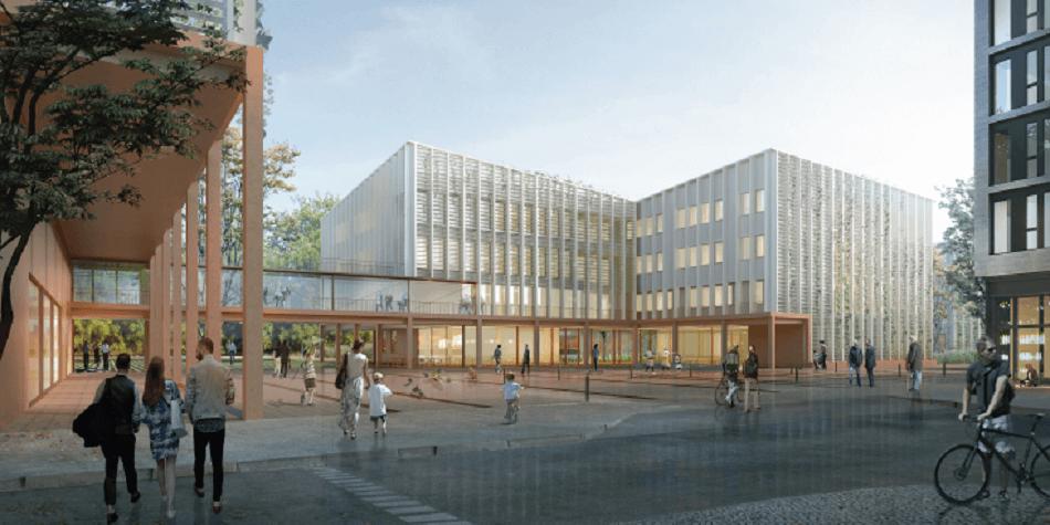Neubau Gymnasium Düsseldorf